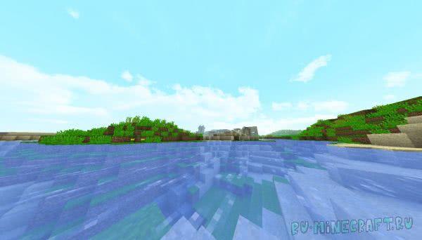 SpringCraft - весенний текстурпак [1.12.2]