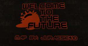 Welcome to the Future - паркур карта добро пожаловать в будущее [1.12.2]