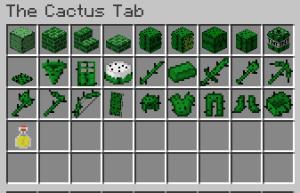 The Cactus Mod [1.12.2]