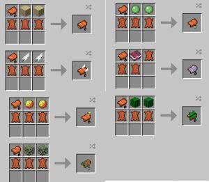 Horse Tweaks - новые седла с эффектами [1.12.2]
