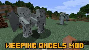 Weeping Angels Mod - плачущий ангел из Doctor Who [1.16.5] [1.15.2] [1.14.4] [1.12.2]