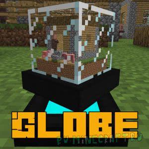 Globe mod - декоративный шар [1.12.2]