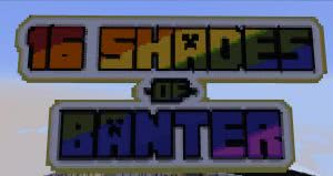 16 Shades of Banter Map - паркур карта разных цветов [1.12.2]