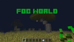 Fog World - мод на туман [1.12.2]