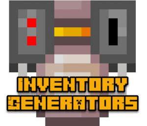 Inventory Generators - генераторы в инвентаре [1.12.2]