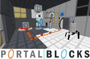 Portal Blocks - блоки, оформление из Портал 2 [1.12.2] [1.10.2] [1.7.10]