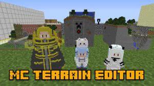 MC Terrain Editor - редактор карты, создание миниатюр [1.12.2] [1.10.2] [1.7.10]