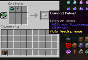 Auto Feeder Helmet - авто поедание еды [1.16.5] [1.15.2] [1.14.4] [1.12.2]