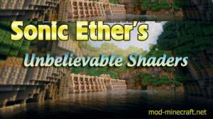 Sonic Ether's Unbelievable Shaders Mod -  [1.12.2] [1.11.2] [1.10.2] [1.9.4] [1.8.9] [1.7.10 ]