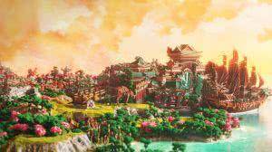 Карта Xin Tiantang - Японский город [1.12.2]