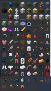 Minecraft Expanded - разные вещи [1.7.10]