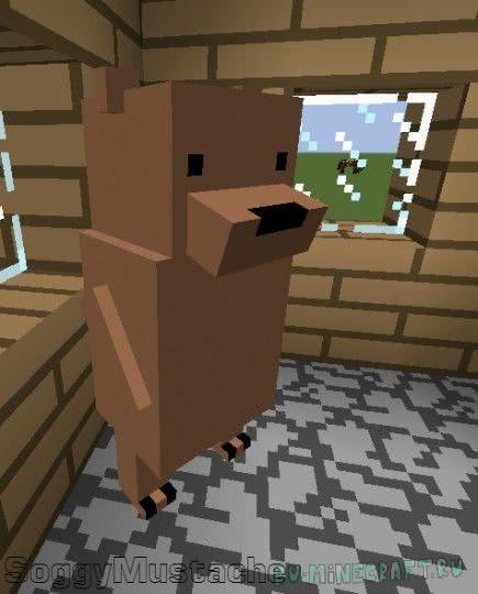 We Bare Bears Mod - забавные мишки [1.7.10]