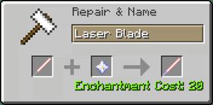ToLaserBlade - лазерный меч [1.12.2]
