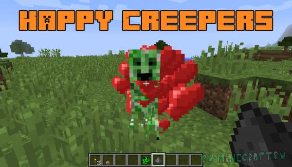 Happy Creepers [1.12.2]
