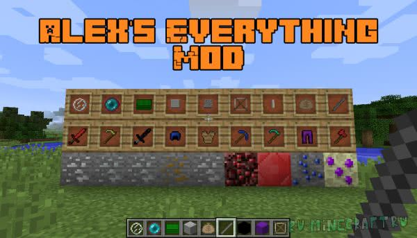 Alex's Everything Mod [1.12.2]