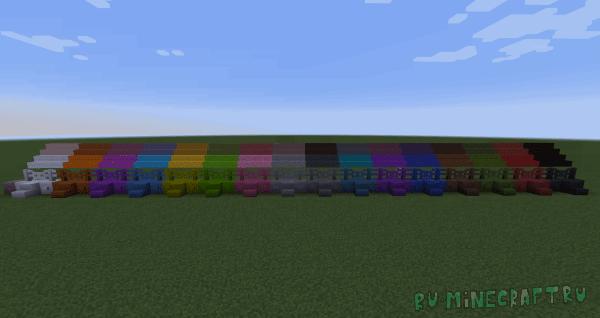 PattysMoreBlocks - разноцветные блоки [1.14.4] [1.12.2]