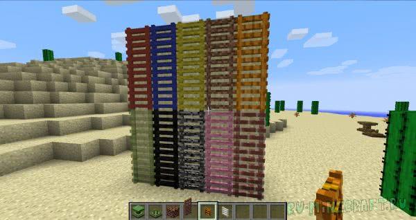Extreme Decorations - много блоков с разной текстурой [1.7.10]