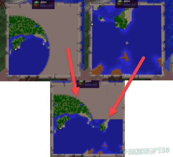 Pantography - объединение карт [1.12.2] [1.7.10]