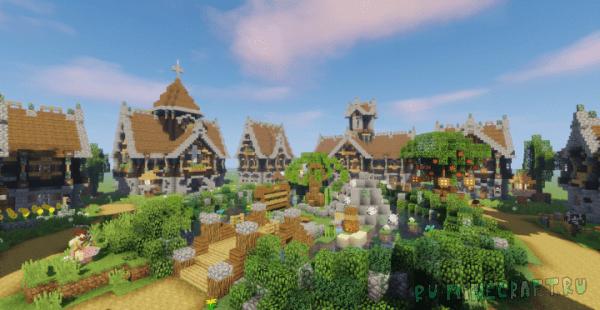 Devixiu's Medieval Town [1.12.2]