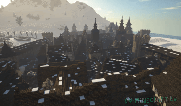 Dark Medieval City & Vampire Castle [1.12.2]