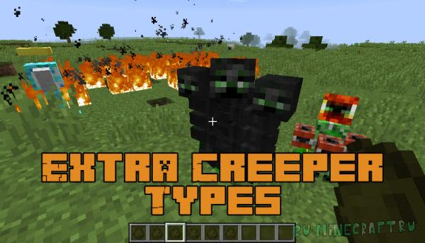 Extra Creeper Types [1.12.2] [1.12.1]