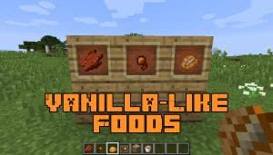 Vanilla-Like Foods [1.12.2] [1.12.1]