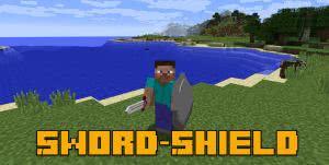Sword&Shield mod - меч и щит в одном [1.12.2]