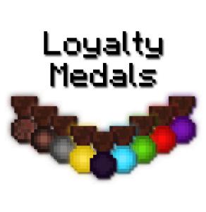 Loyalty Medals - медали игрокам [1.12.2]