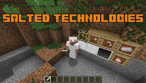 Salted Technologies - мод на соль [1.12.2]
