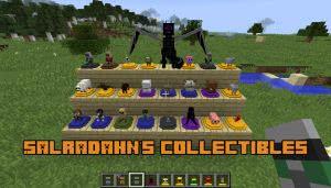 Salradahn's collectibles - игрушки, статуэтки [1.12.2]