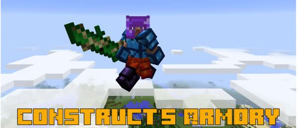 Construct's Armory - много брони для Tinkers Construct [1.12.2]