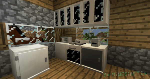 Furniture Resource Pack [1.12.2] [16x16]