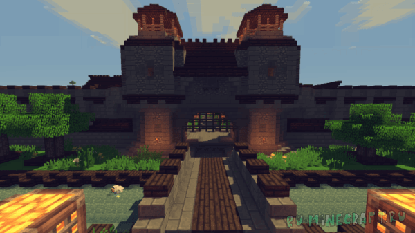 Medieval Fantasy Town [1.12.2]