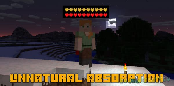 Unnatural Absorption - естественный щит [1.12.2] [1.11.2] [1.10.2] [1.7.10]