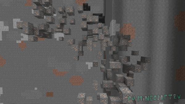 Realistic Ore Veins - реалистичная генерация руды [1.14.4] [1.13.2] [1.12.2]