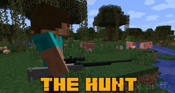The Hunt - оружие охотника [1.12.2] [1.7.10]