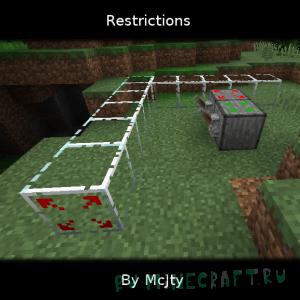 Restrictions - блоки перемещения [1.16.5] [1.15.2] [1.14.4] [1.12.2]