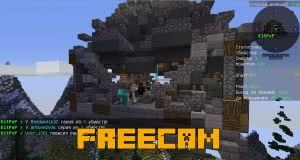 FreeCam - читерская свободная камера [1.12.2] [1.11.2]