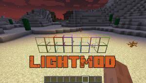 LightMod - светящиеся панели [1.12.2]