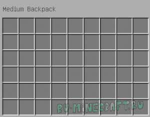 Useful Backpacks - больше места в инвентаре [1.12.2] [1.10.2]