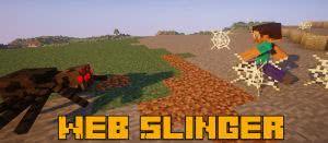 Web Slinger - пауки кидают паутину [1.14.4] [1.12.2]
