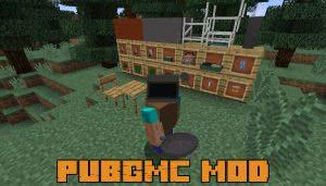 PUBGMC mod - вещи из ПУБГ [1.12.2]