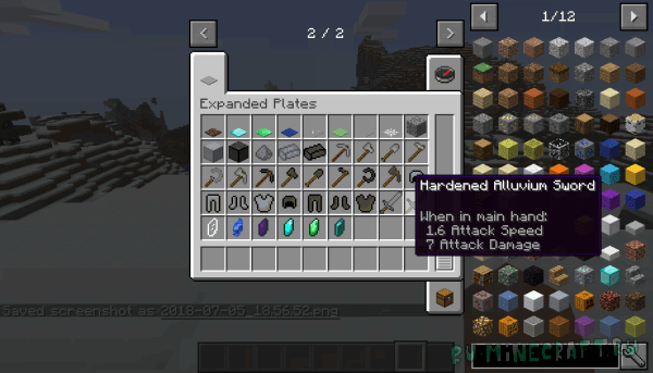Expanded Plates [1.12.2]