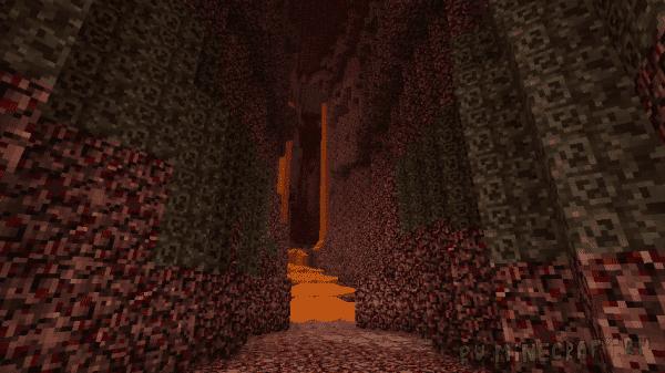 "Swiss Cheese Caves - ""бесконечные"" пещеры как раньше [1.12.2]"