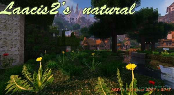 Laacis2's Natural Resource Pack [1.13] [1.12.2] [1.11.2] [512x] [1024х] [2048x]