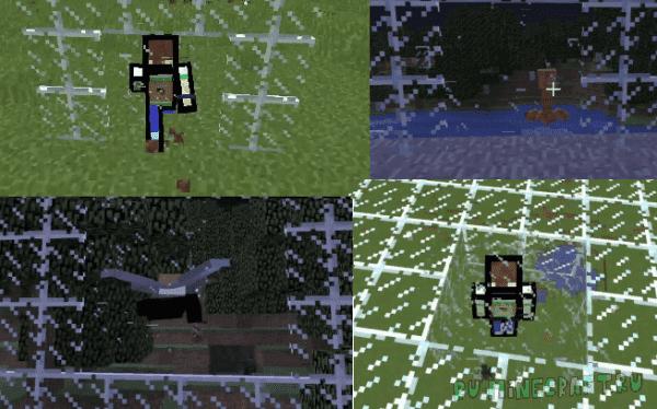 GlassBreaking - Бьющиеся стёкла! [1.13.2] [1.13] [Датапак]