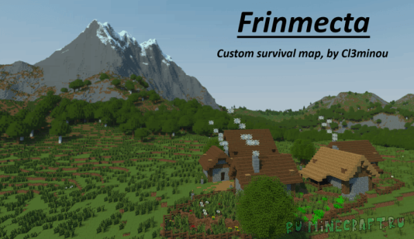 Frinmecta - кастомная карта для выживания! [1.13]