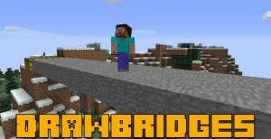Draw Bridge - разводные мосты [1.16.5] [1.15.2] [1.14.4] [1.12.2]