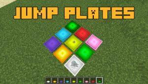 Jump Plates - плиты батуты [1.12.2]