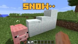 Snow++ - реалистичный снег [1.12.2]